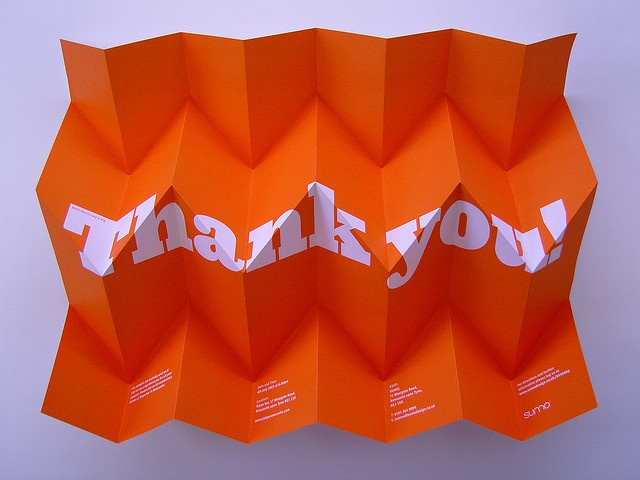 Thank you! by Sumo Design, via Flickr