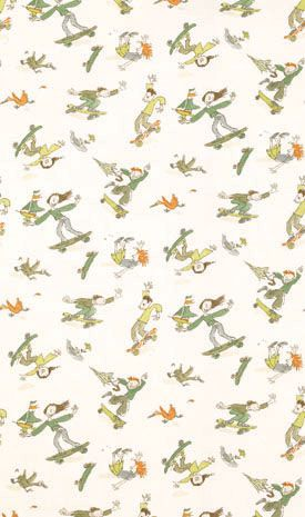 Skateboarders  F6055-01 Designer Fabrics and Wallpapers by Sanderson, Harlequin, Morris, Osborne, Little And many more