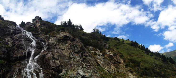 Cascada Capra (Goat Waterfall), Transfagarasan, Romania. #transfagarasan #waterfall #mountains #fagaras #romania