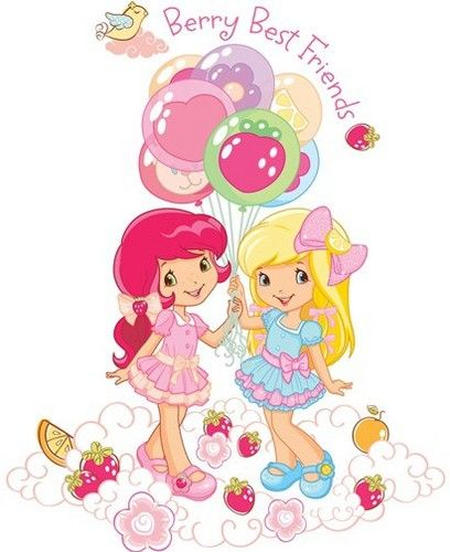 New Strawberry Shortcake Characters | Strawberry and Friends - strawberry-shortcake Photo