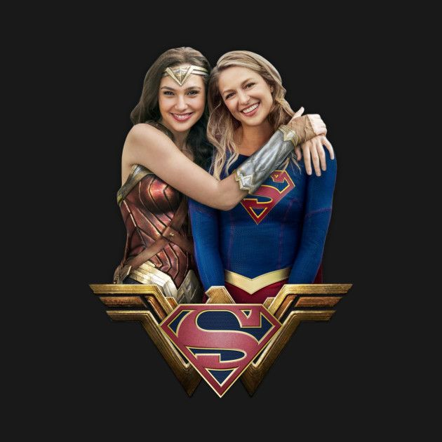 Check out this awesome Wonder+Woman+and+Supergirl design