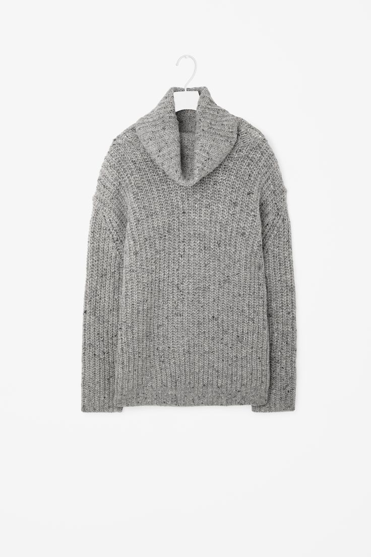 COS | Oversize wool roll-neck
