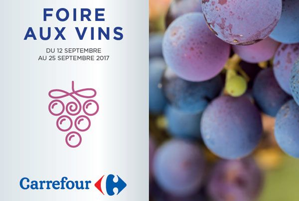 Foires aux Vins Carrefour  #vin #gastronomie #foireauxvins