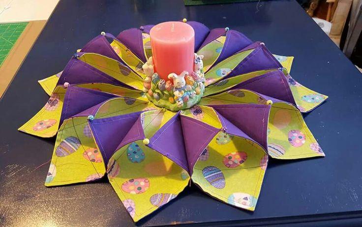 Stitch N Fold Wreath Quilting Fold N Stitch Wreath