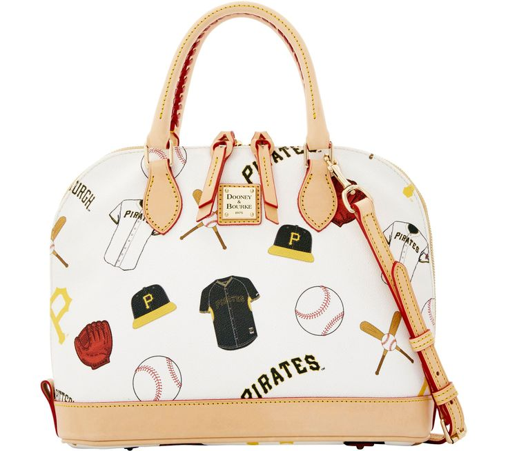 Dooney & Bourke MLB Pirates Zip Zip Satchel