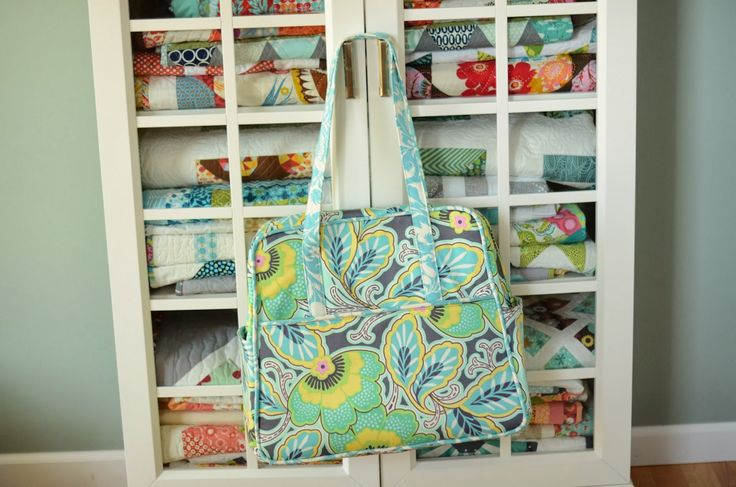 Hyacinth Quilt Designs: Amy Butler Weekender Bag!