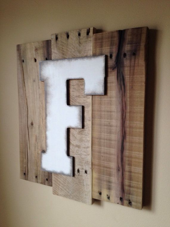 Best 25 letter wall art ideas on pinterest initial art Wall letters decor