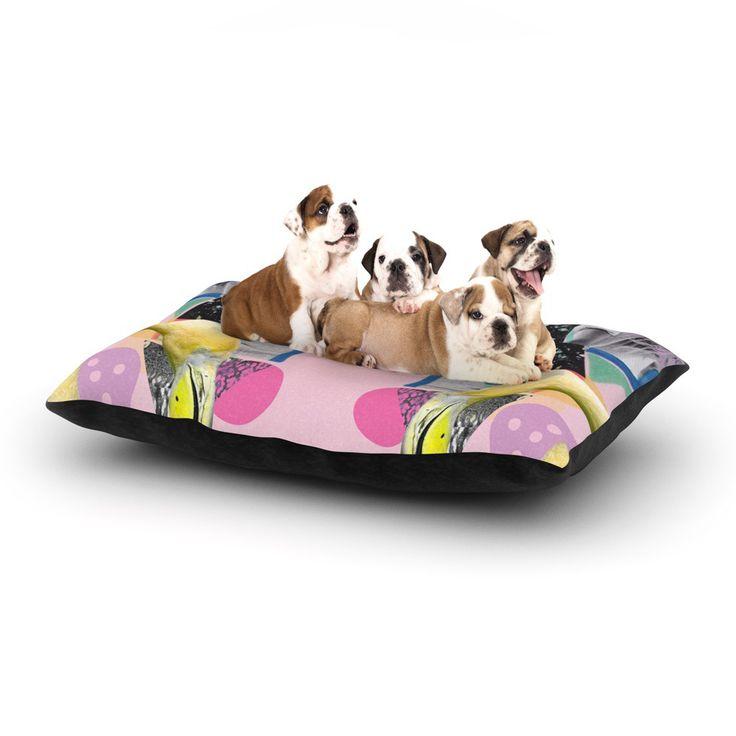 "Vasare Nar ""Flamingo Tropical"" Dog Bed"