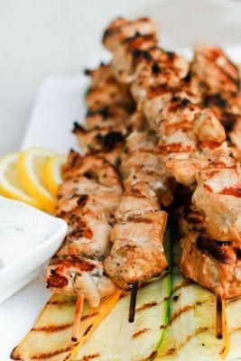 Must Try recipes: Light Greek Chicken Souvlaki