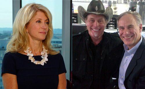 Wendy Davis Calls Out Ted Nugent As A 'Predator' (VIDEO)  Lol... Mr. Poopy-Pants Draft-Dodger. Go get em' Wendy!