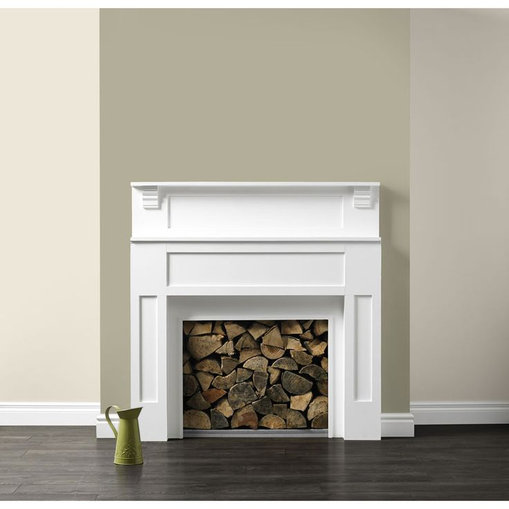 Dulux feature wall overtly olive paint colors Fireplace feature wall colour
