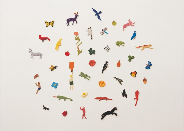 Yoshie Watanabe embroidered animals for une nana cool