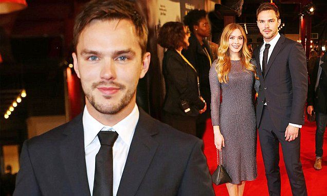 Nicholas Hoult and sister at the premiere for Kill Your Friends