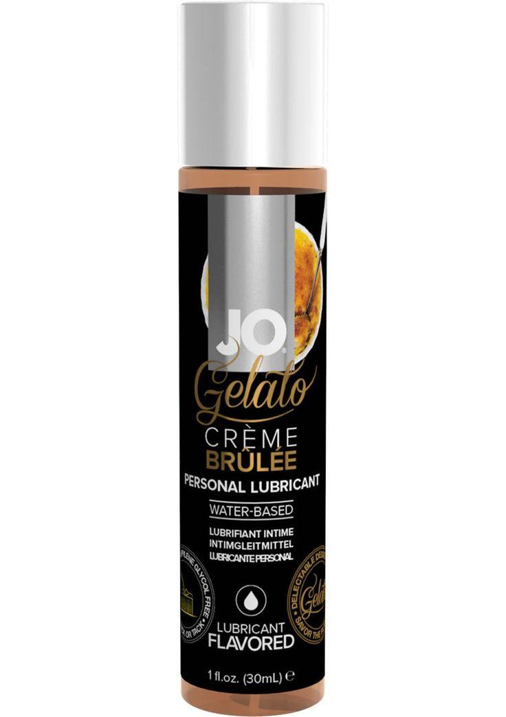 Jo Gelato Water Based Personal Lubricant Creme Brulee 1 Oz Bottle