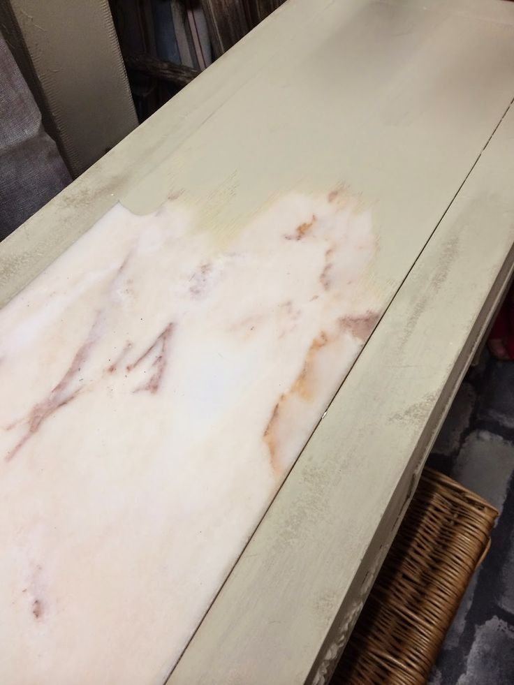Paint Your Marble Top Tables. Just Be Sure To Use Annie Sloanu0027s