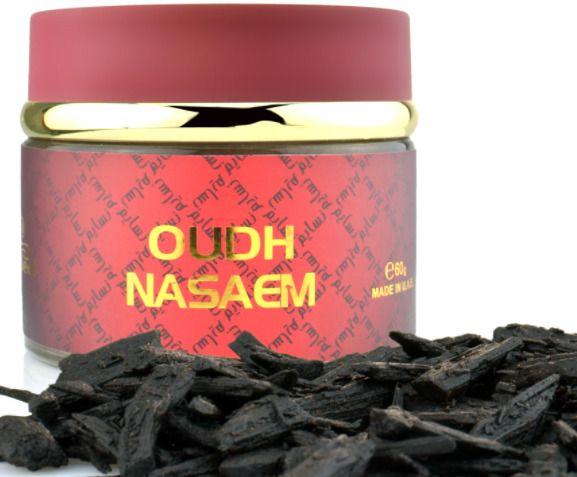 Oud Oudh Nasaem 60gms Incense Bakhoor Bukhoor Bakhour by Nabeel Home Fragrance