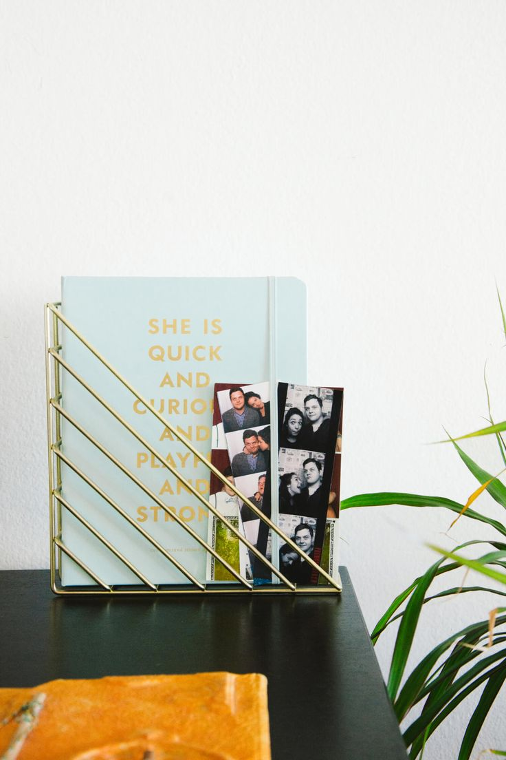 At Home with Arielle Vey | Add a personal detail at home with the Umbra copper STRUM Shelf