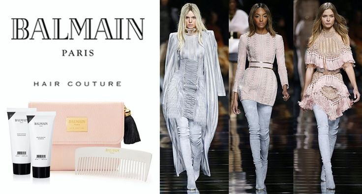 You don't need to look far to find the inspiration for each of our Balmain Hair Couture Limited Edition kits.   This stunning tasseled pink kit was created alongside the Fall Winter 2016 collection.  Shop it online exclusively from GlamIt: http://www.glamit.co.za/balmain-hair/limited-edition-gifts/cosmetic-bag-f-w-2016-detail