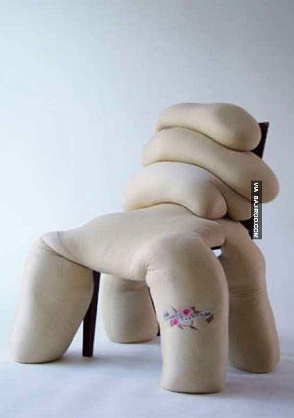 weird, sloppy chair design - 32 Photos Of Unusual Furniture