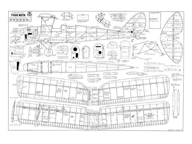 Tiger Moth - plan thumbnail