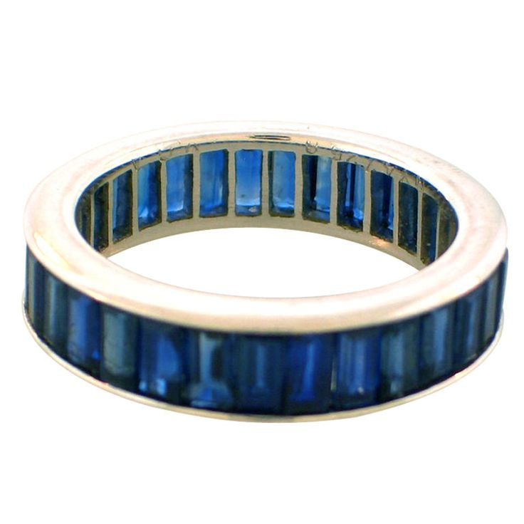 1000 ideas about sapphire eternity band on