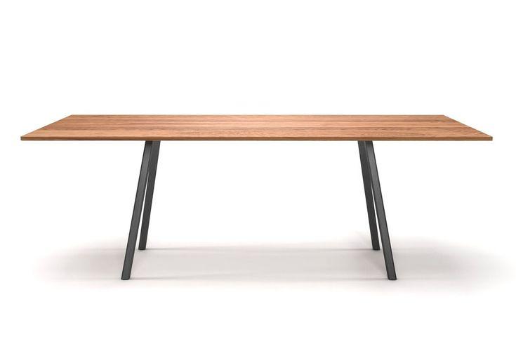 Minimal design esstisch eiche astfrei moderne for Design esstisch vollholz