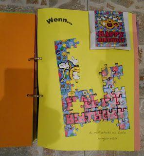 ... dann brauchst du ein Geschenk. Ein WENN ... Buch ist da eine tolle Idee. Für eine liebe Kollegin ist dieses hier entstanden.      ich...