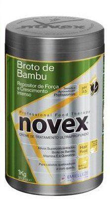awesome Embelleze Novex Bamboo Sprout Hair Care Treatment Cream - 35.3 Oz | Embelleze Novex Creme de Tratamento Capilar com Broto de Bambu - 1Kg