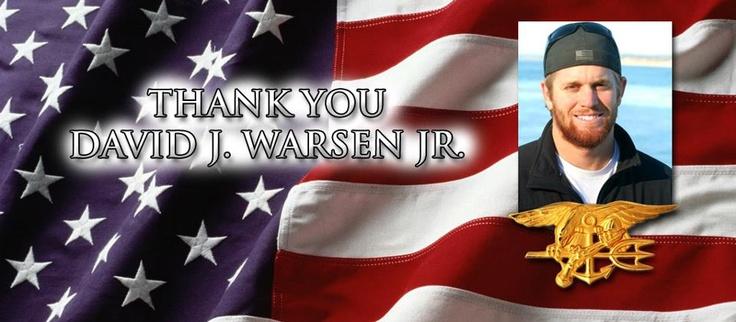 Navy SEAL, David J. Warsen, Jr.