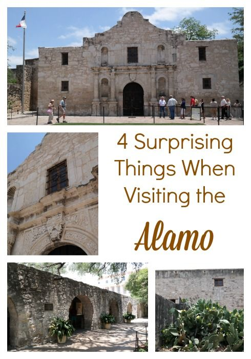 4 Surprising Things When Visiting the Alamo