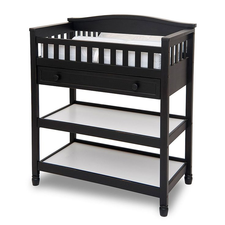 """Child Craft deluxe changing table, jamocha finish - Foundations Worldwide - Babies""""R""""Us $229.99"""