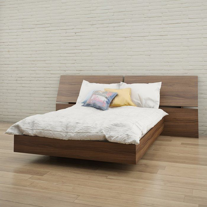 looking to give your restful retreat a stylish update the aristocles platform bed instantly brings