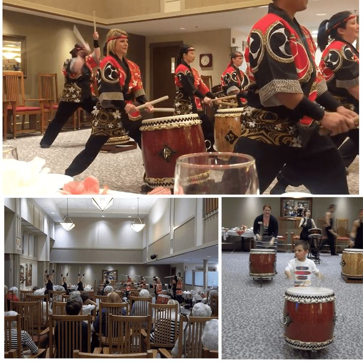 Lake Bonavista Village was lucky to have Midnight Taiko entertain us with Japanese Drumming on Tuesday, May 16th. Many of our residents joined in the fun and showed us their drumming skills!  We look forward to Midnight Taiko's next visit! Watch the video here https://youtu.be/quqRIDYmXrE