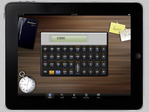 15E Scientific Calculator for iPad, la mejor calculadora programable