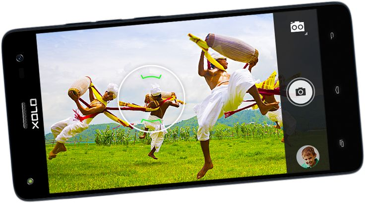XOLO Black smartphone have revolutionary dual 13MP+2MP rear fast focus camera that never let you miss a moment.