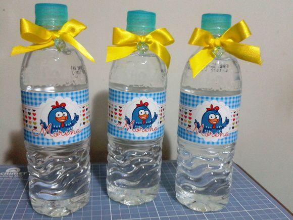 Água Personalizada Galinha Pintadinha