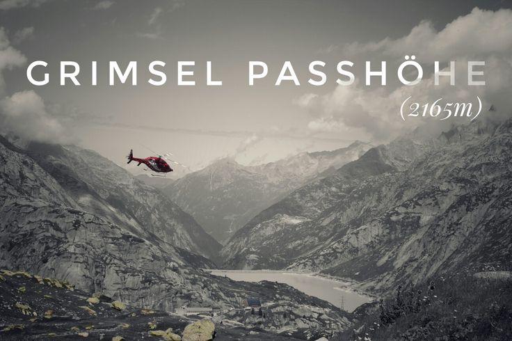 Grimsel Passhöhe (2165m)