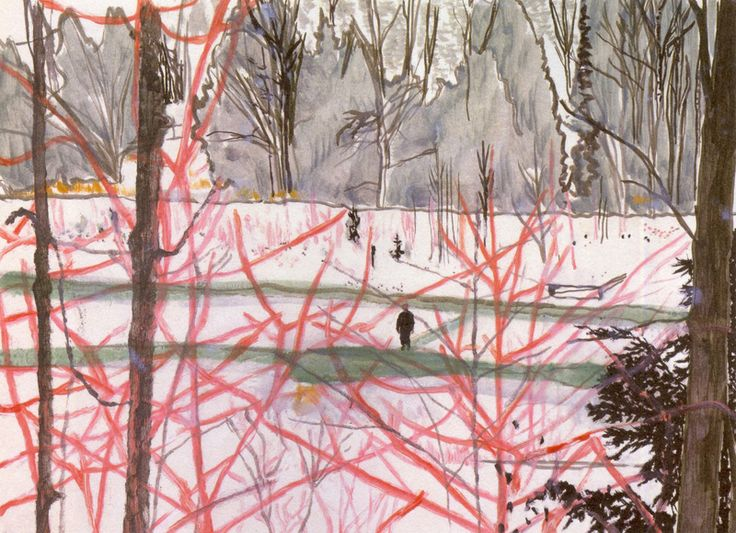 Peter Doig - Found on theartstack.com