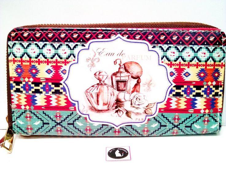 Πορτοφόλι μεγάλο vintage σχέδιο -Νέα Συλλογή!
