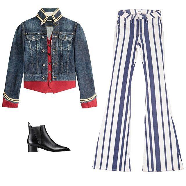 New Denim-on-Denim Outfit Inspiration - Canadian Tuxedo