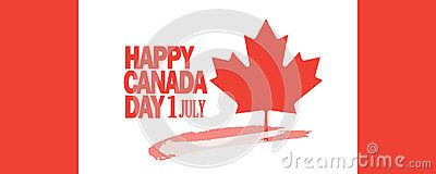 Canada Day Greeting Card - Download From Over 61 Million High Quality Stock Photos, Images, Vectors. Sign up for FREE today. Image: 94086178