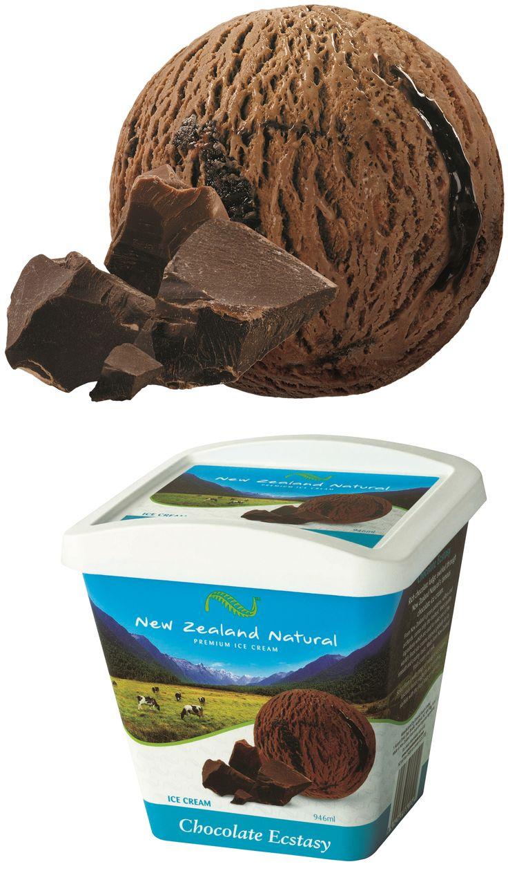 Chocolate Ecstasy - 125ml, 473ml, 946ml & 6L #chocolate #icecream #newzealandicecream #newzealand #sweet