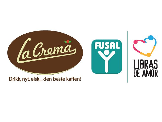 First donation to FUSAL from La Crema Kaffe!