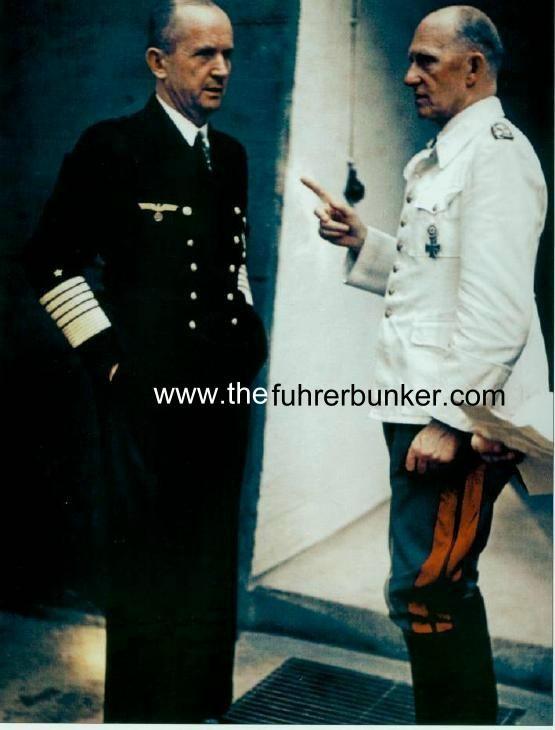 GROSSADMIRAL VON FRIEDEBURG | Third Reich Color Pictures: Generaloberst Alfred Jodl