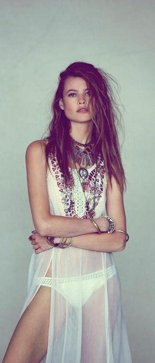 Behati Prinsloo : spring summer bohemian fashion