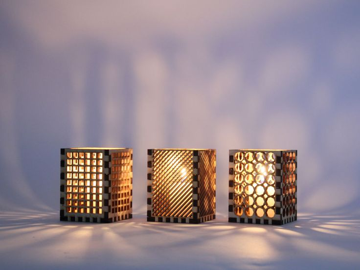 Picture of Laser Cut Candle Holders