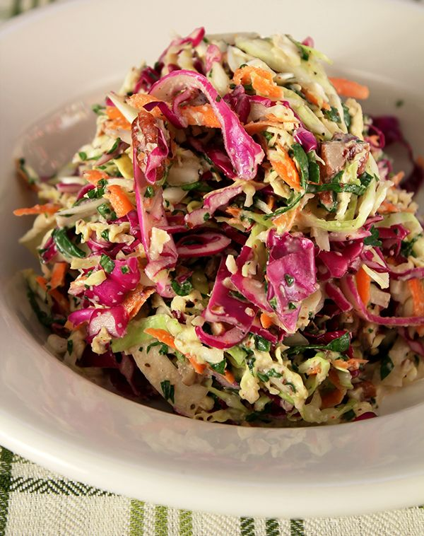 Southern-Cole-Slaw: from New Orleans Chef Emeril Lagasse