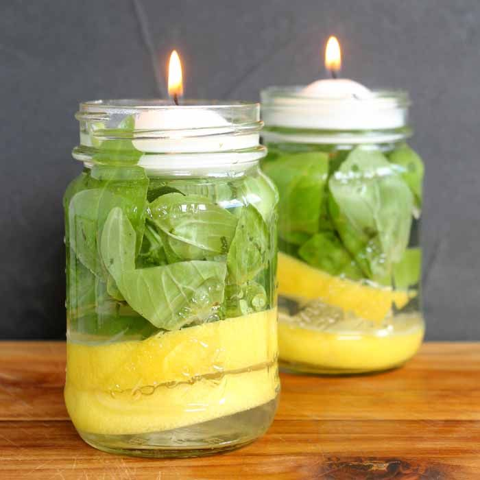 Make you own mosquito repellent candles with just a few supplies. This quick and easy idea will leave you pest free for all of your summer activities.