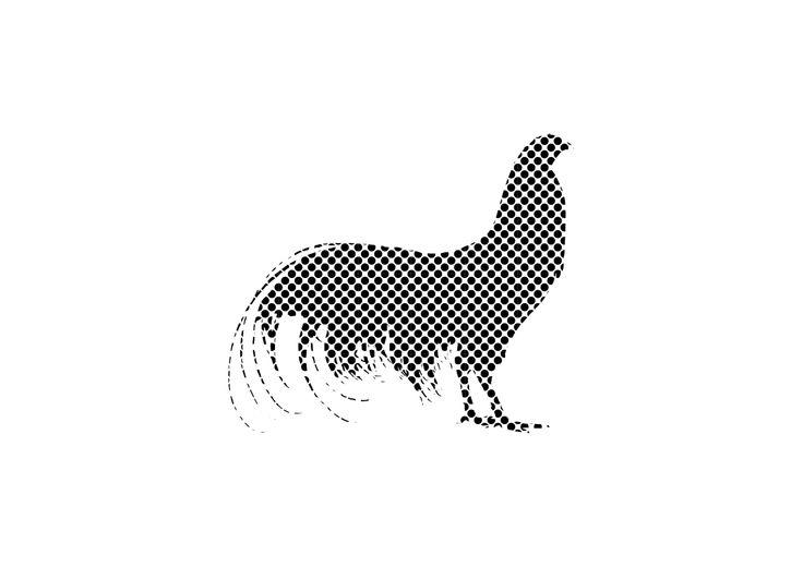 16 POLLI  Chicken silhouette 16  by LORENZO GAETANI DESIGN  lowercase edition