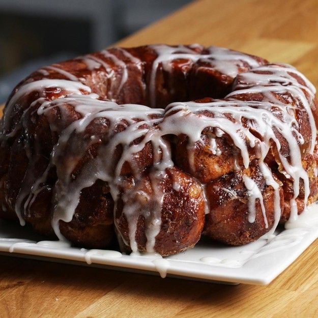 Pull-Apart Cinnamon Roll Monkey Bread | This Cinnamon Roll Monkey Bread Is…